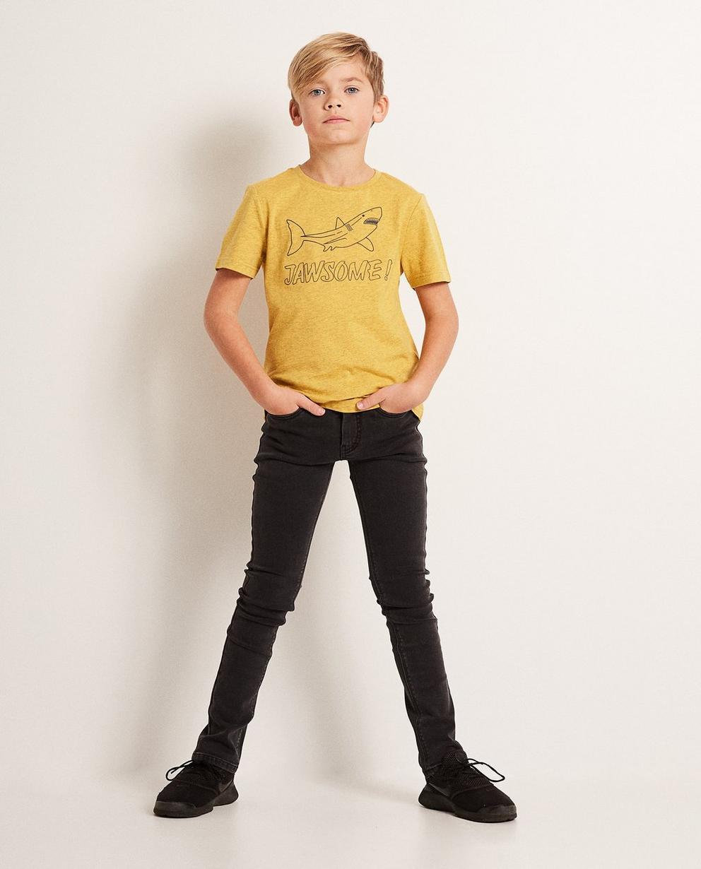 Skinny Straight Jeans THOMAS - mit leichter Waschung - JBC